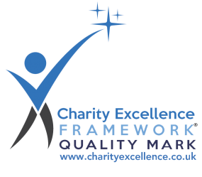 Logo of the Charity Excellence Framework's Quality Mark